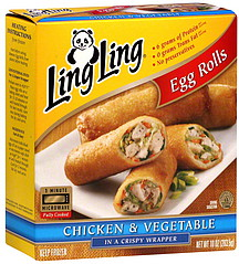 Whole Foods Vegetable Egg Rolls Calories