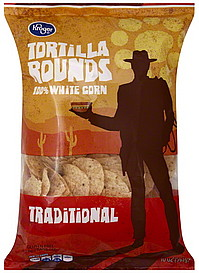 Kroger Tortilla Rounds 100 White Corn Traditional 10 0
