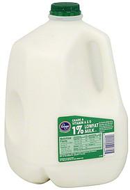 Kroger Milk 1 Lowfat 1 0 Gl Nutrition Information Shopwell