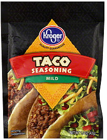 kroger taco seasoning mild
