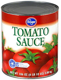 Kroger Tomato Sauce