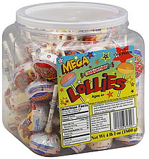 Mega Smarties/Lollies 60.0 ea Nutrition Information | ShopWell Smarties Candy Nutrition