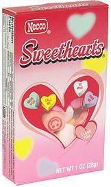 Necco Tiny Conversation Hearts 1.0 oz Nutrition ...