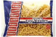 Skinner Egg Noodles Medium 12.0 oz Nutrition Information | ShopWell