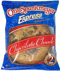 Otis Spunkmeyer Chocolate Chip Cookie Nutrition