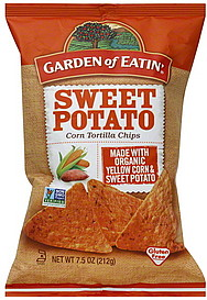 Garden Of Eatin Tortilla Chips Corn Sweet Potato 7 5 Oz