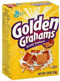 Golden Grahams Cereal Honey Graham 0 875 Oz Nutrition