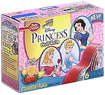 Betty Crocker Fruit Rolls Disney Princess Strawberry