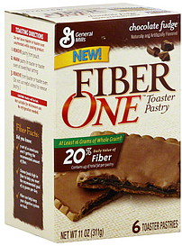 Fiber One Toaster Pastry Chocolate Fudge 6 0 Ea Nutrition
