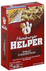 Hamburger helper philly cheesesteak 6 5 oz nutrition Tuna and philadelphia pasta