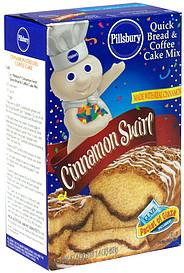 Cinnamon Swirl Quick Bread And Coffee Cake Mix