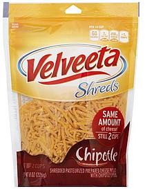 velveeta shredded cheese