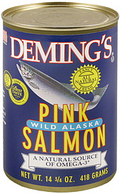 deming 39 s pink salmon oz nutrition information shopwell. Black Bedroom Furniture Sets. Home Design Ideas