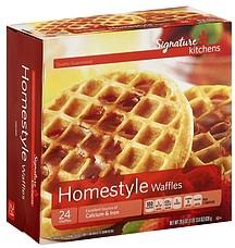 Signature Waffles Homestyle 24 0 Ea Nutrition Information