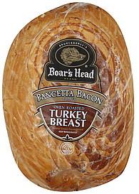 Boar S Head Turkey Breast Oven Roasted Pancetta Bacon