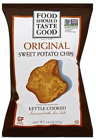 Food Should Taste Good Sweet Potato Chips Nutrition Facts