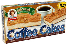 Little Debbie Coffee Cakes Apple Streusel Pre Priced 10 0