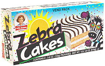 How Many Calories Is In A Zebra Cake Per Serving