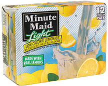 Minute Maid Light Lemonade Carbs Minute Maid Light Low Calorie Lemonade 12  0 Ea Nutrition . Minute Maid Light Lemonade ...