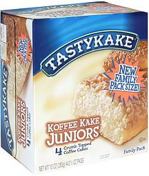 Tastykake Coffee Cake Ingredients