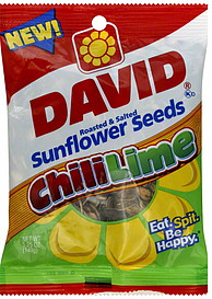 Chili lime sunflower seeds