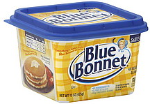 Blue Bonnet is a margarine which isn't butter. It's a butter substitute from oils and animal fats. Real butter is made from cream from animals. Its actually really easy to make yourself. Just put a high fat cream like heavy or whipping cream and place it into a jar. A baby food jar or a small mason jar works perfectly.