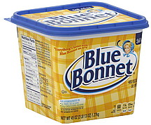 Blue bonnet butter nutrition