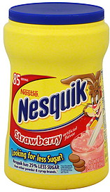 how to make a strawberry milkshake with nesquik
