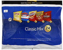 Frito-Lay Classic Mix 24.0 ea Nutrition Information | ShopWell