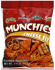 Munchies Snack Mix Cheese Fix 1 75 Oz Nutrition