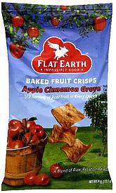 Flat Earth Baked Fruit Crisps