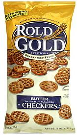 Rold Gold Pretzels Checkers Butter 10 0 Oz Nutrition