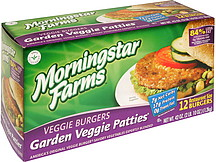 Morningstar Farms Veggie Burgers Garden Veggie Patties 12 0 Ea Nutrition Information Shopwell