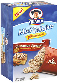 Quaker Multigrain CakesQuaker Rice Cakes Ingredient List