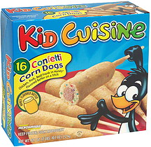 Kid Cuisine Confetti Corn Dogs