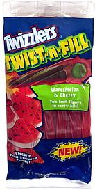 Twizzlers Twist N Fill Watermelon Amp Cherry 7 5 Oz