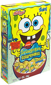 spongebob squarepants cereal artificially sweetened with