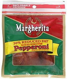 Margherita Pepperoni 50 Reduced Fat 4 5 Oz Nutrition