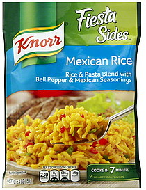 Knorr Rice Amp Pasta Mexican Rice 5 4 Oz Nutrition