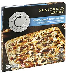 Culinary Circle Pizza Flatbread Crust, Chicken, Bacon and ...