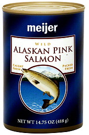 meijer alaskan pink salmon wild oz nutrition information shopwell. Black Bedroom Furniture Sets. Home Design Ideas