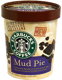 Starbucks Coffee Ice Cream Mud Pie 1.0 qt Nutrition Information ...