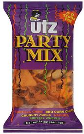 Utz Party Mix 12 0 Oz Nutrition Information Shopwell