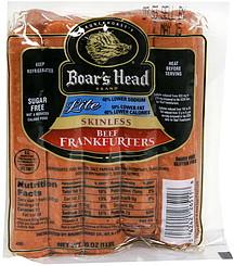 Boars Head Hot Dogs