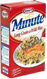 Minute Long Grain & Wild Rice Instant Enriched 6.75 oz