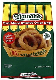 Nathan S Frozen Onion Rings Nutrition