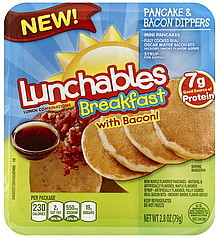 Lunchables Lunch Combination Pancake & Bacon Dippers 2.8 oz ...