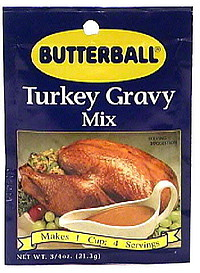 how to make gravy from a butterball turkey