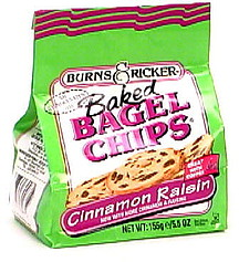 Burns & Ricker Baked Bagel Chips