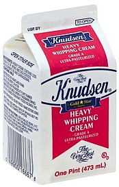 Knudsen Heavy Whipping Cream
